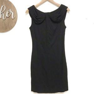 Armani Collezioni Black sheath dress